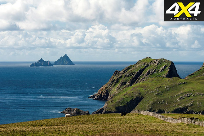 Skellig Islands view