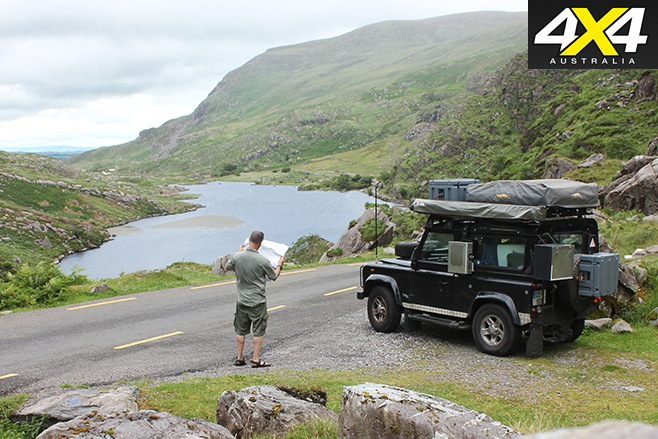 Checking bearings in County Kerry