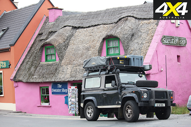 Traditional rooftop in Doolin