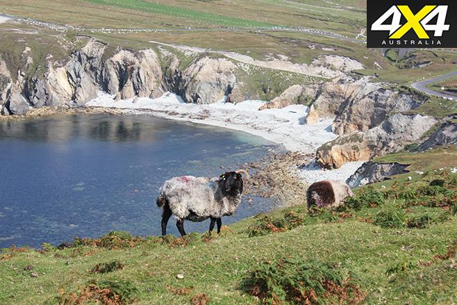 Achill coastline
