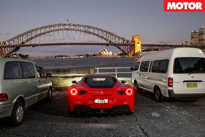 Ferrari 488 GTB in sydney