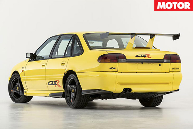 Old HSV GTS-R rear