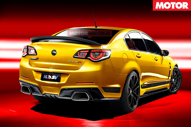 new HSV GTS rear