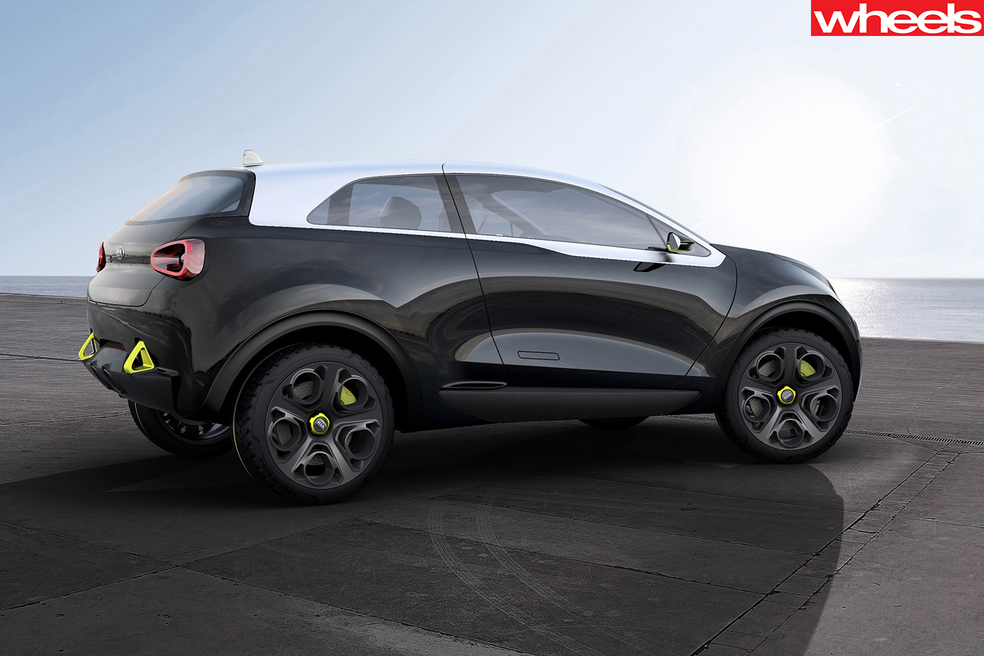 Kia Niro concept rear side
