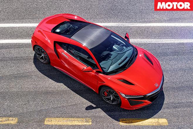 2017 honda nsx driving