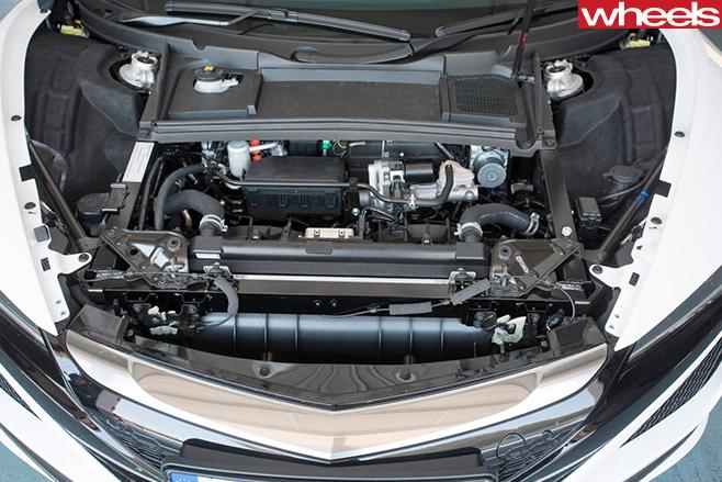 Honda -NSX-engine