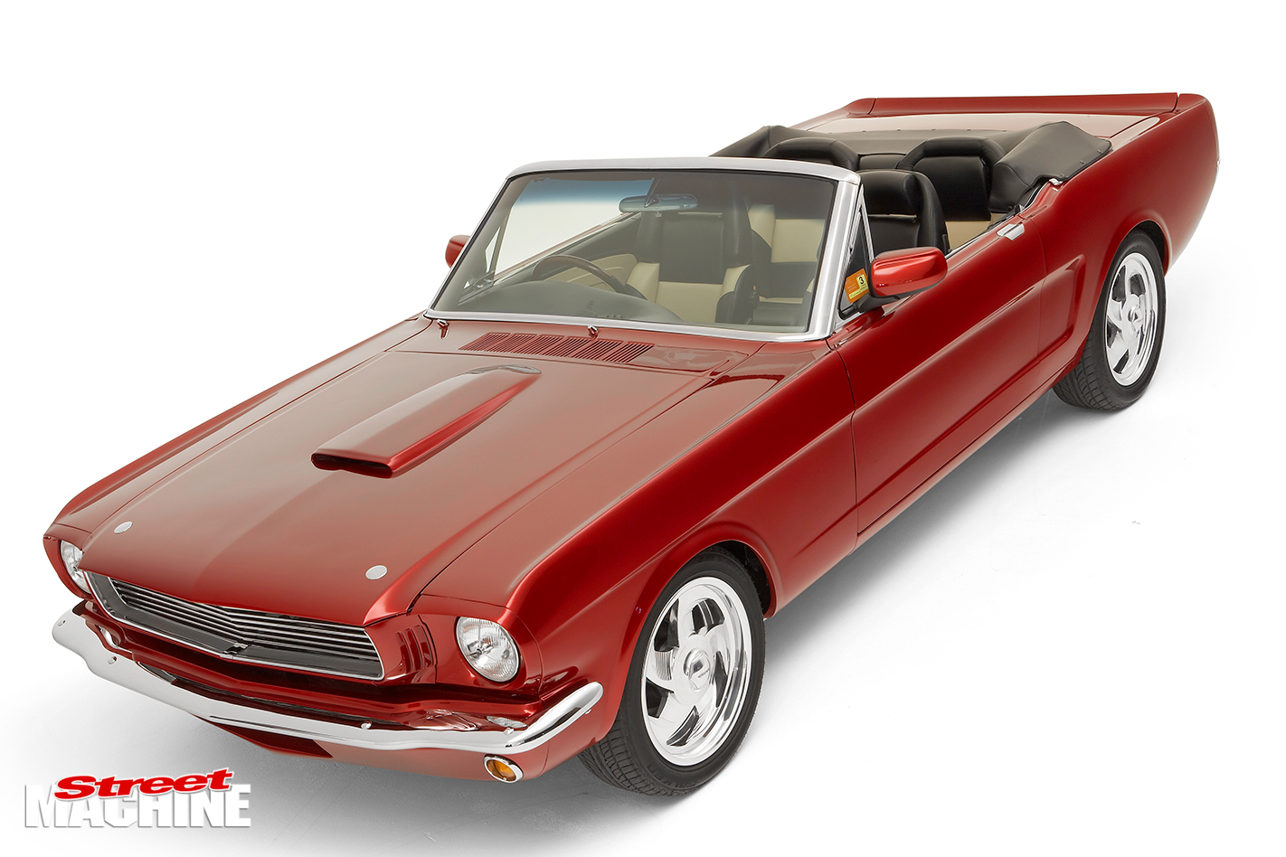 Marshall -Perron -Pro -Touring -Mustang -front -angle