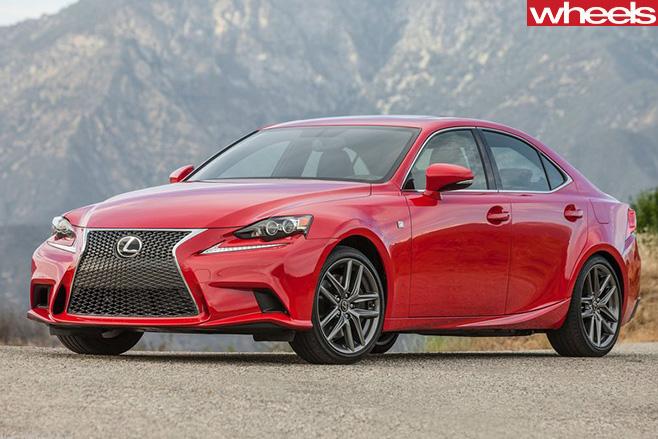 Lexus -IS-F-Sport -front -side