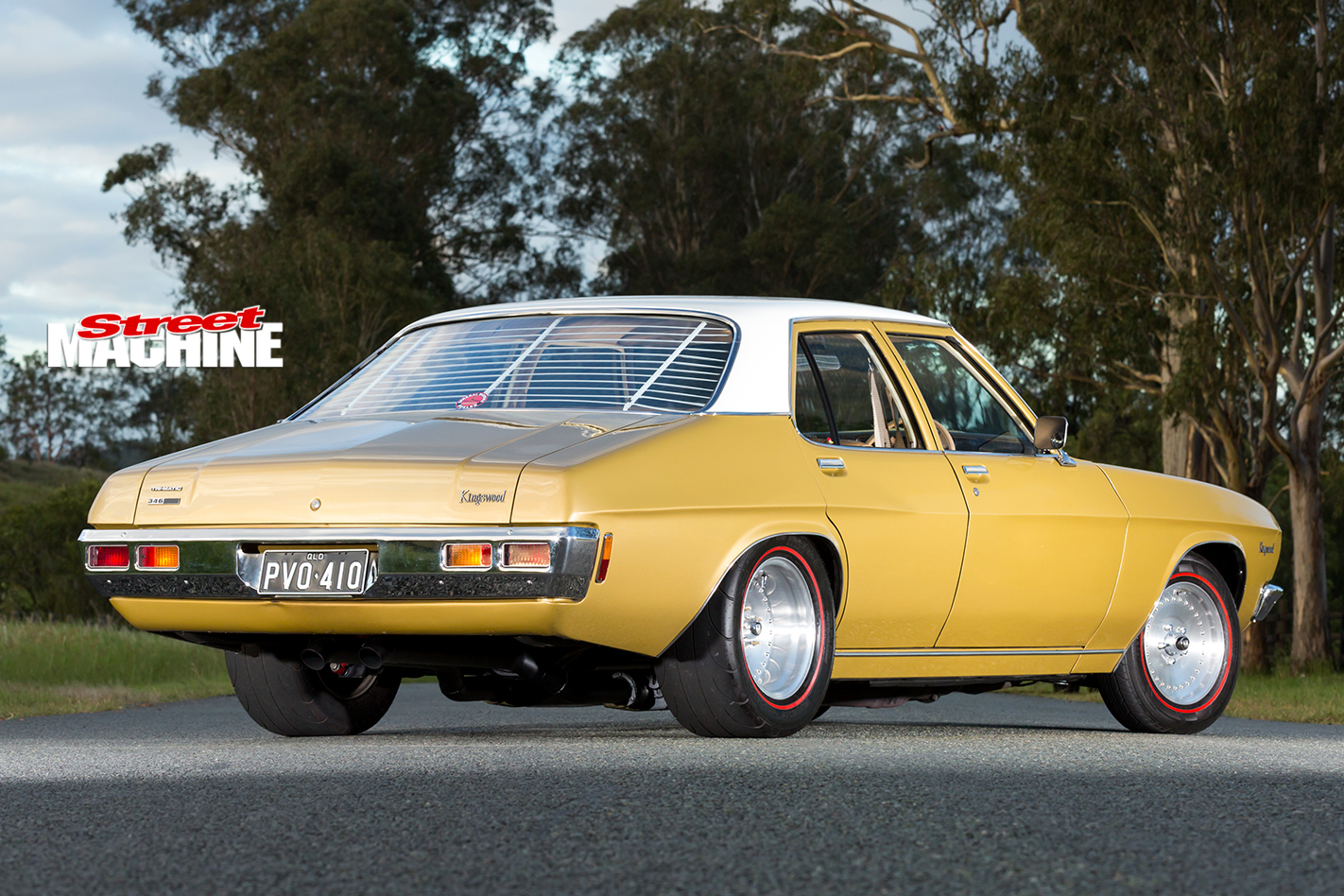 Holden -HQ-Kingswood -rear