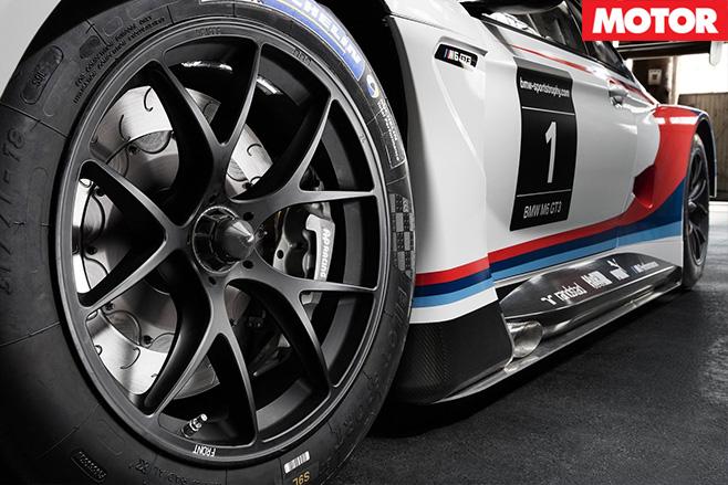 BMW M6 GT3 2016 side