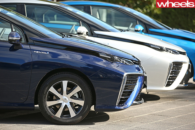 Toyota -Mirai -front -side