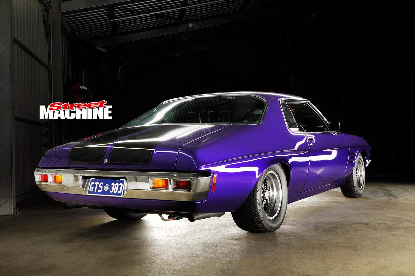 Holden -HQ-Monaro -rear -angle