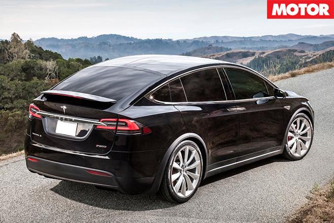 Tesla Model X rear
