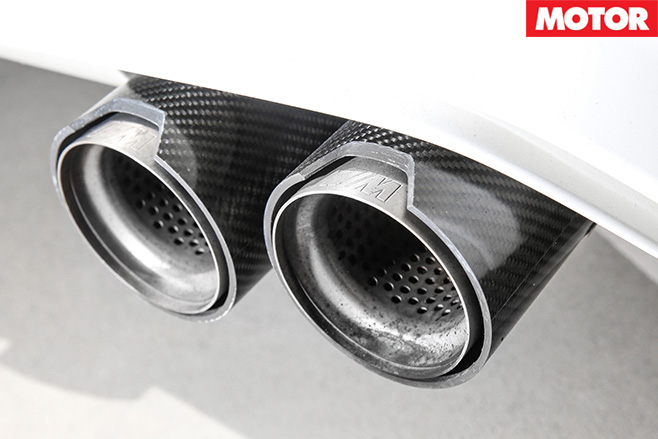 2016 BMW M4 M Performance exhaust