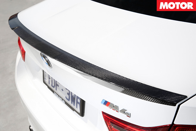 2016 BMW M4 M Performance rear