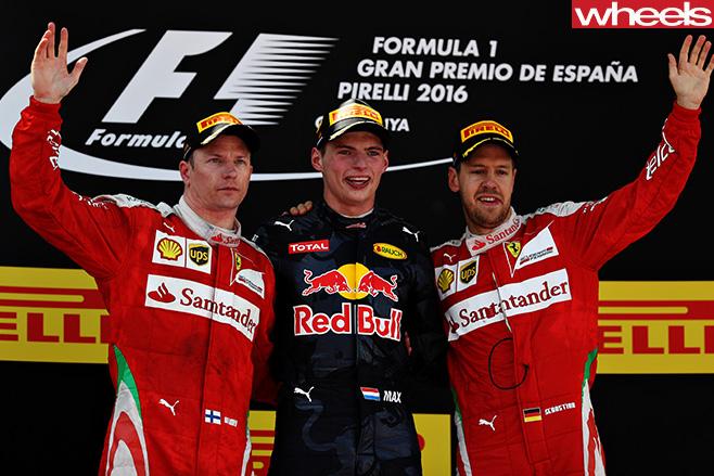 Max -Verstappen -with -Sebastian -Vettel -F1