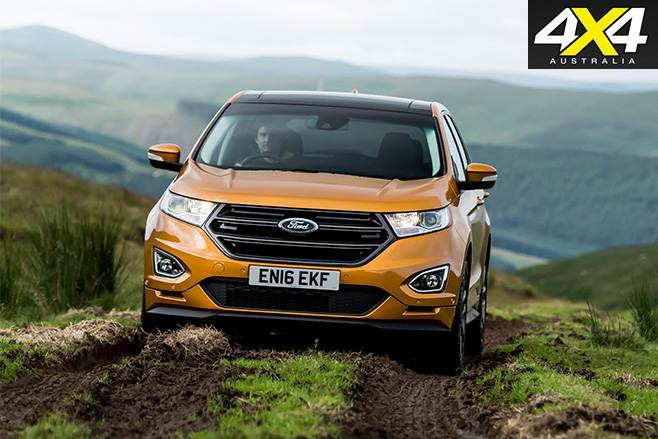 Ford Edge driving