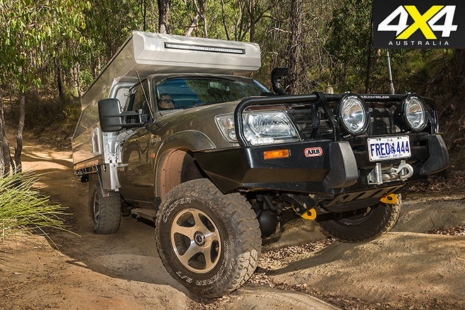 Globatrol Custom Patrol camper driving