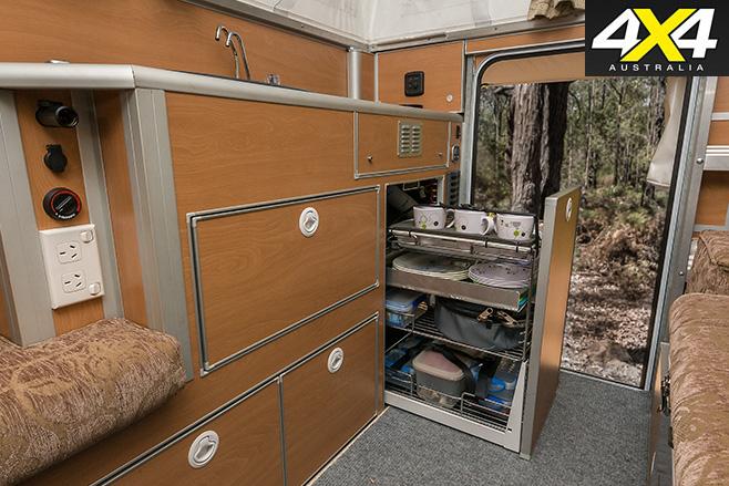 Globatrol Custom Patrol camper interior
