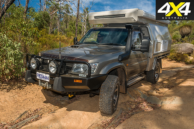 Globatrol Custom Patrol camper front