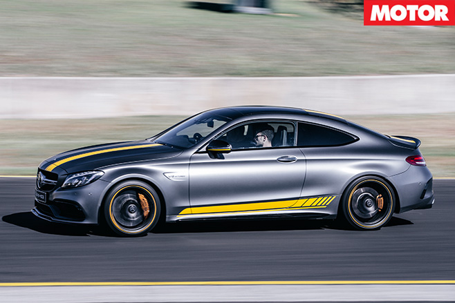 2016 Mercedes-AMG C63 S Coupe side