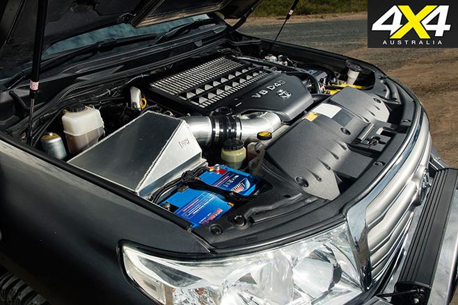 Toyota Land Cruiser LC200 engine
