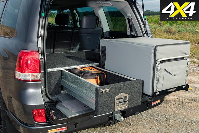 Custom LC200 storage