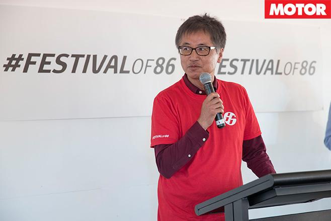 Tetsuya Tada-San speaking