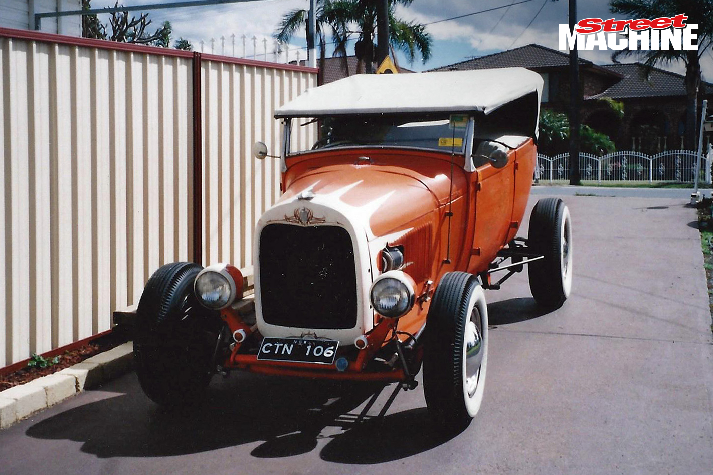 Model A Tourer Hot Rod