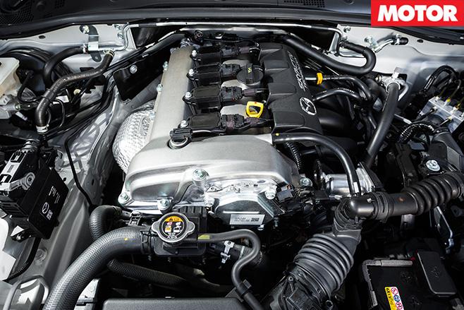 Mazda MX-5 2.0 litre engine