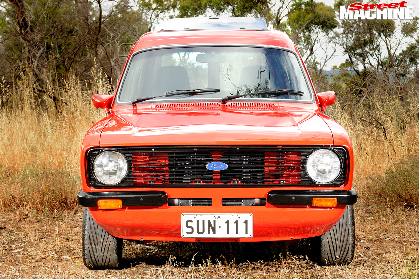Ford -Escort -Sundowner -front -view