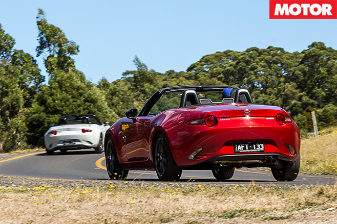 Mazda MX-5 1.5 litre vs 2.0-litre rear driving
