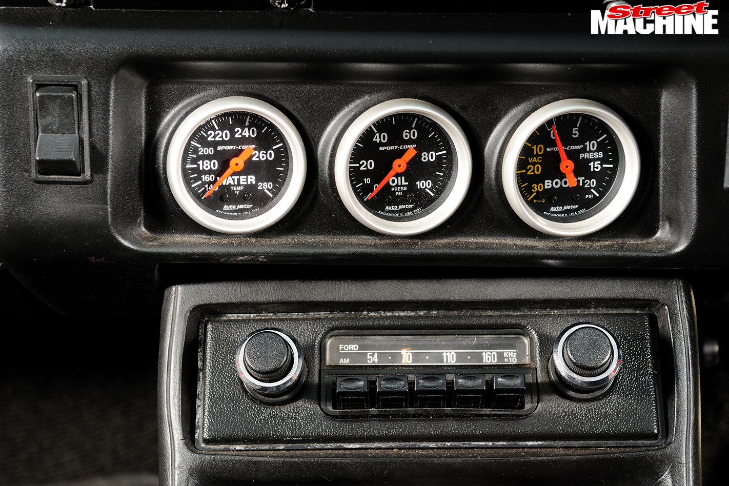 Ford -Escort -Sundowner -gauges
