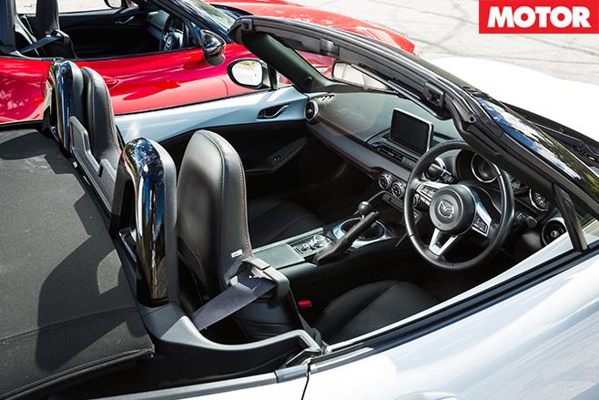 Mazda MX-5 2.0 litre interior 2