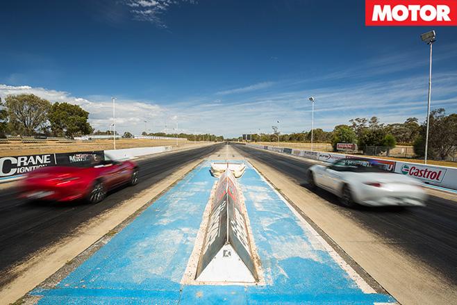 Mazda MX-5 1.5 litre vs 2.0-litre racing