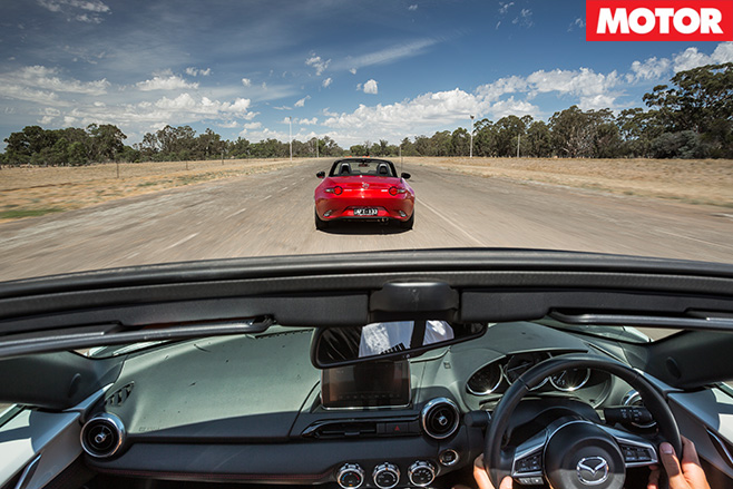Driving the mazda mx-5 1.5 litre