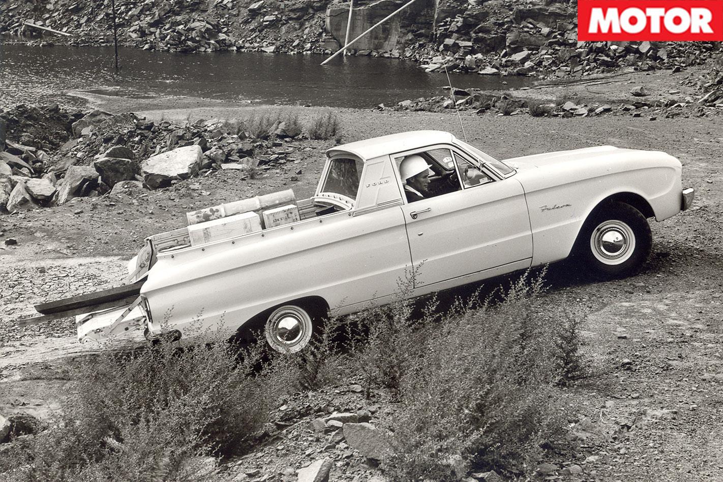 Ford XK Falcon ute