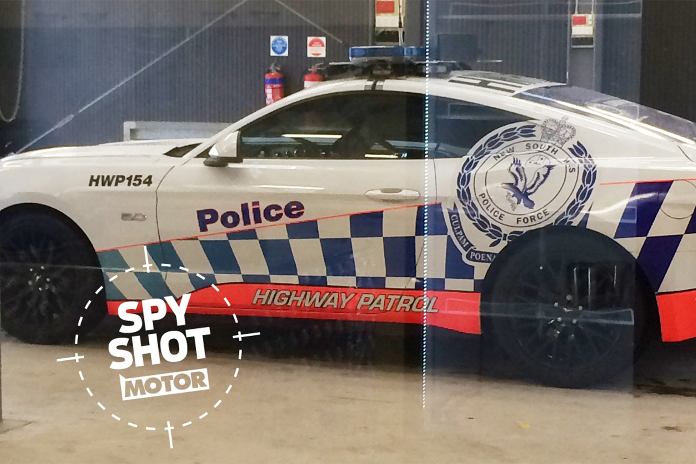 SPIED Ford Mustang Highway Patrol prototype 2