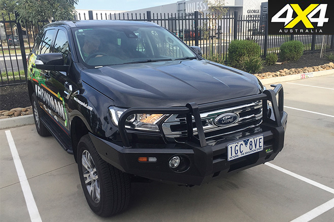 Ford everest big bullbar