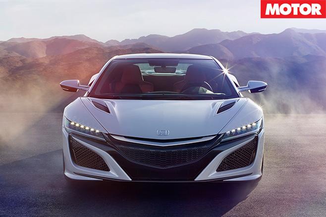 Honda NSX front