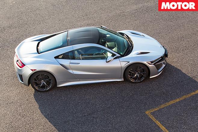 Honda NSX top view