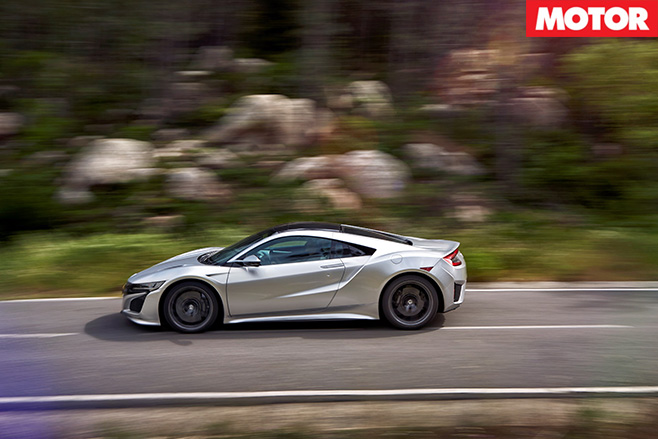 Honda NSX driving side