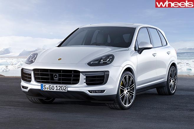 Porsche -Cayenne -Turbo -S