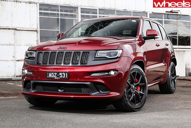 Jeep -Grand -Cherokee -SRT-Night -front -side
