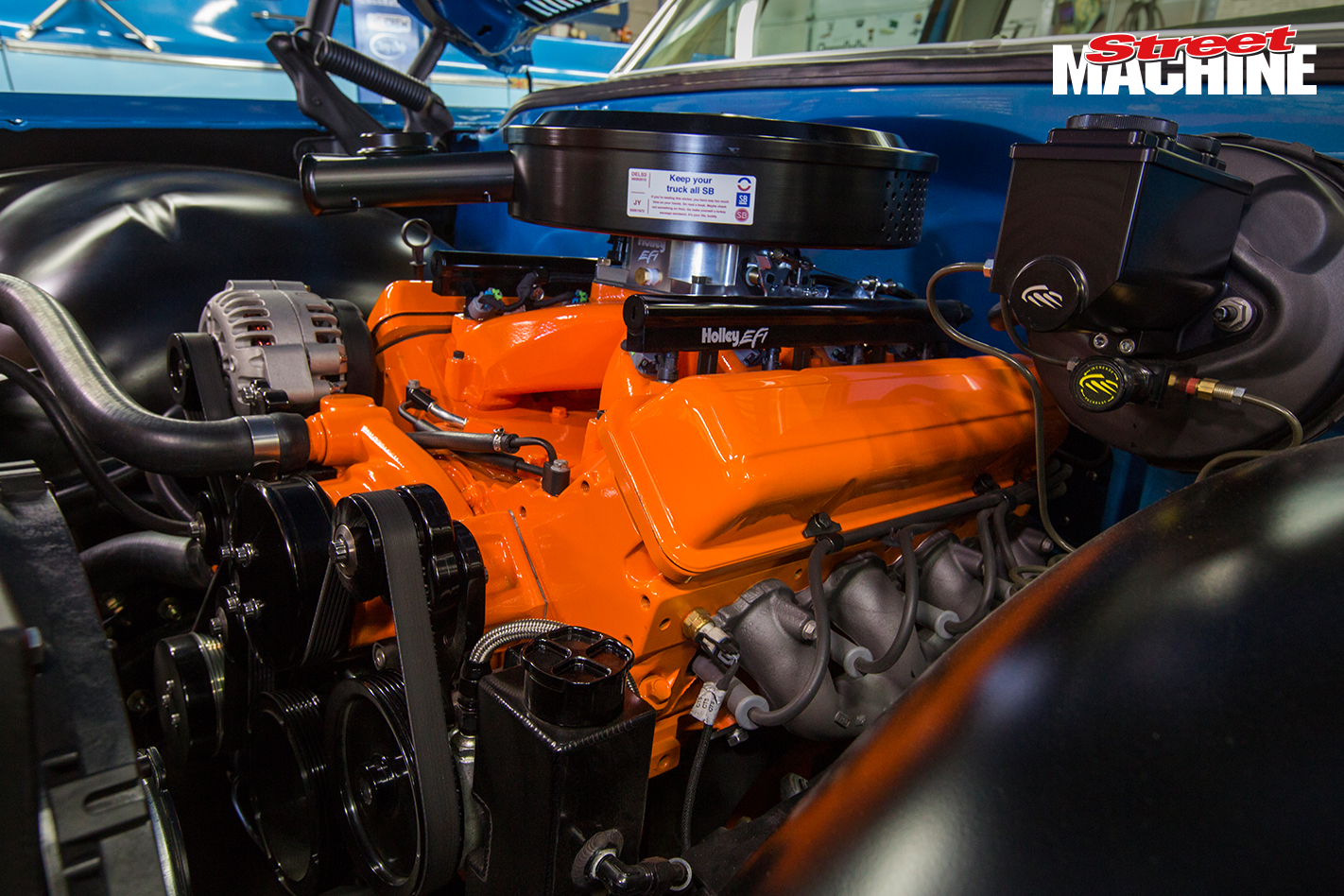 Chev C10 Slammed Engine LS3 1