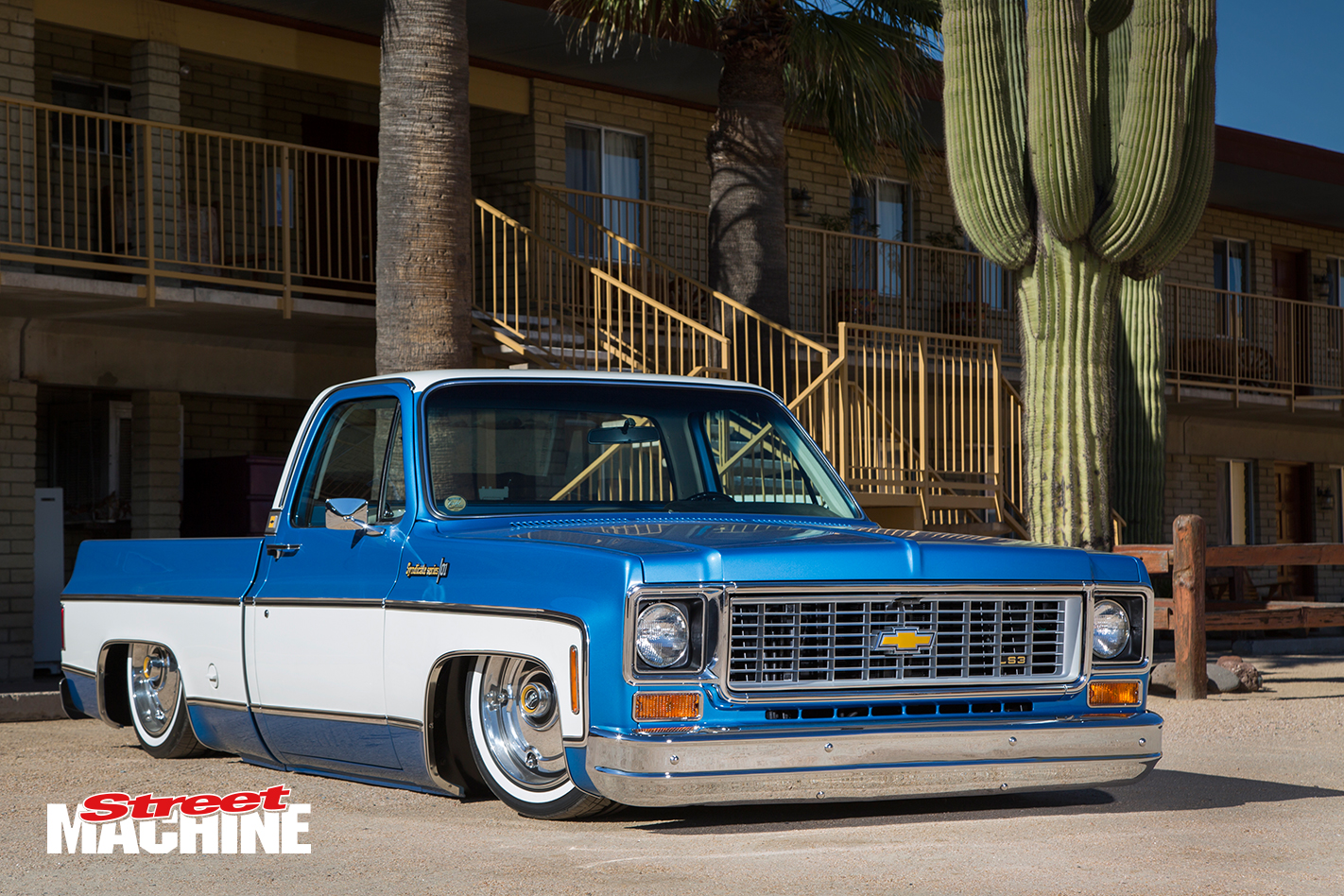 Slammed chevy c10 pick up truck with an ls3 street machine chevy c10 slammed 2 sciox Image collections