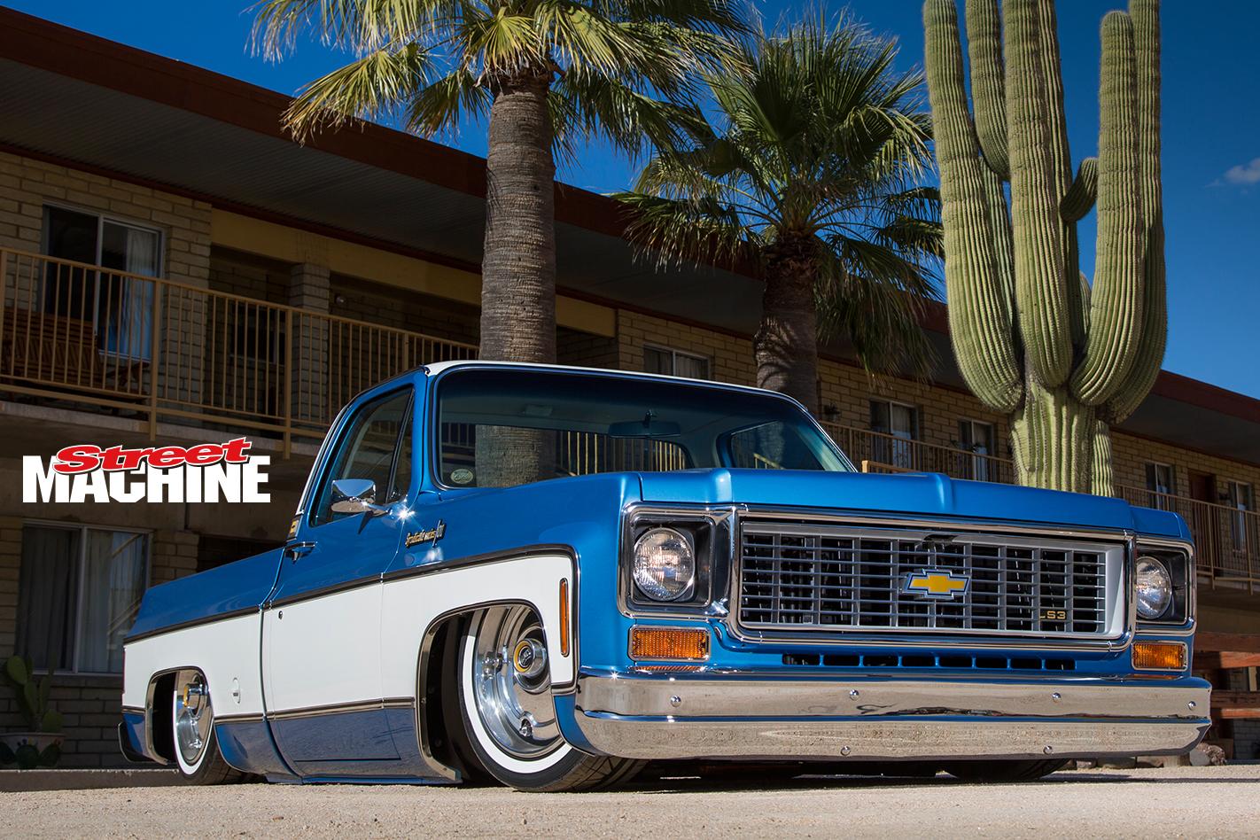 Chevy C10 Slammed 3