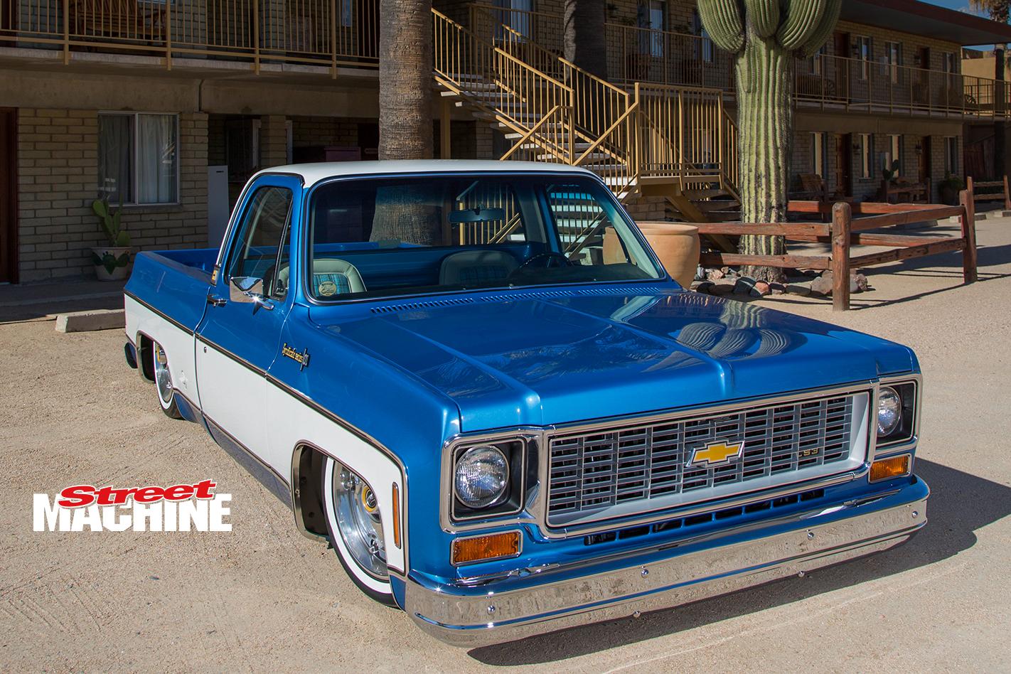 Chevy C10 Slammed 4