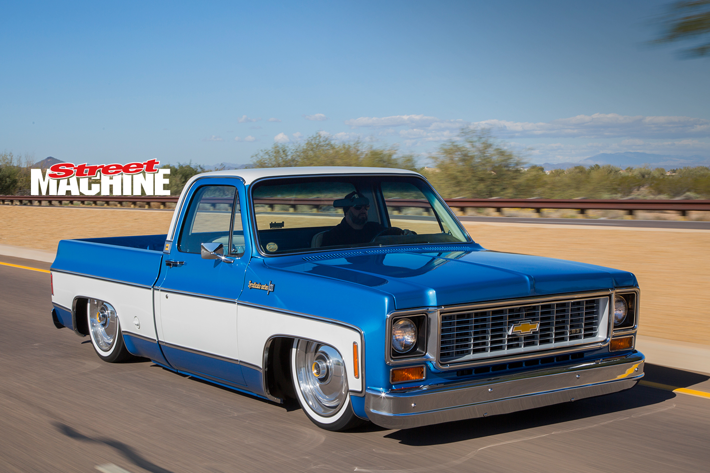 Slammed chevy c10 pick up truck with an ls3 street machine chevy c10 slammed 9 sciox Image collections