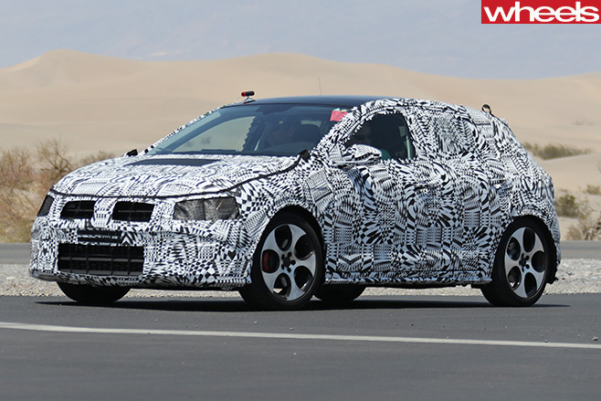 Volkswagen -Polo -GTI-front -side -on